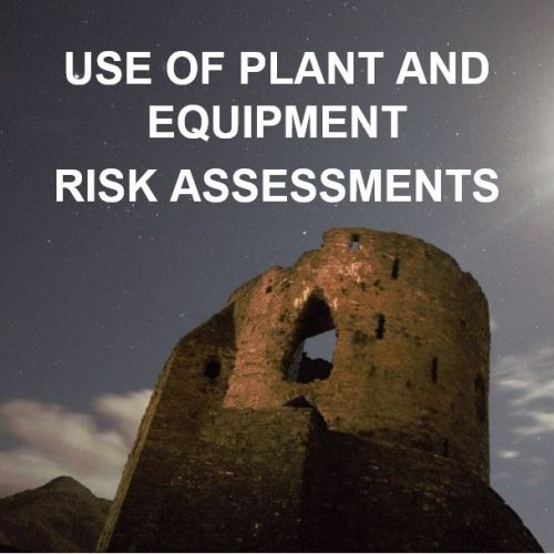 06. Use of Plant and Equipment