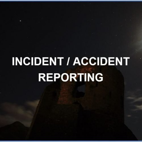 Incident and Accident Reporting