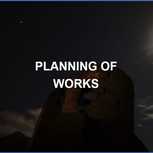 Planning of Works