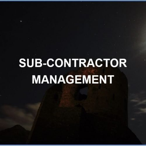 Sub-Contractor Management