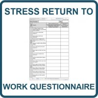 Stress Return to Work Questionnaire - Construction Phase Plan